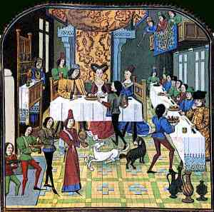 French Medieval Banquet