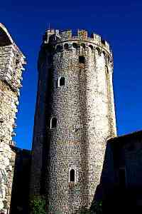 Rihemberk Medieval Castle tower
