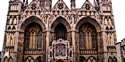 Peterborough Medieval Cathedral Norman Design