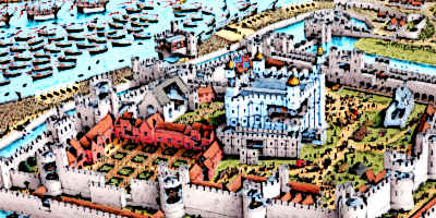 Medieval London City Image