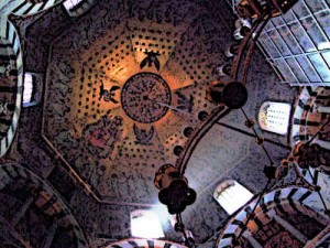 The Palatine Chapel in Aachen Ceiling