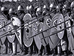 Medieval Soldiers Shields