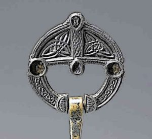 Celtic Ring Brooch
